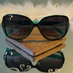 Juicy Couture Teal Green Sunglasses New